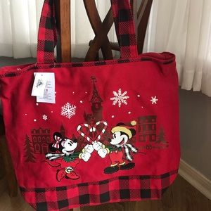Disney 2019 Christmas Winter Tote